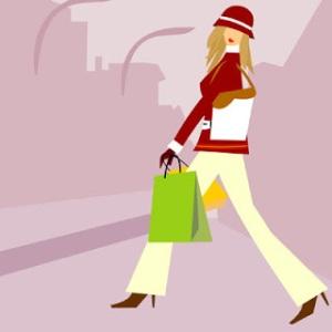 compras-mulher-desenho