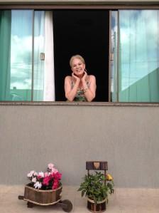 eu na janela