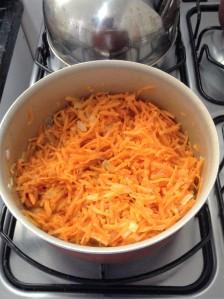 cenoura refogada